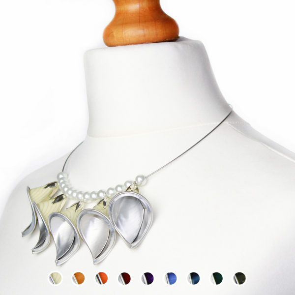 Lili Nespresso recycled necklace